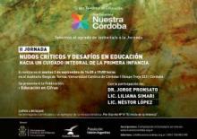 Jornada Nudos Críticos en Educación. Hacia un cuidado integral de la primera infancia