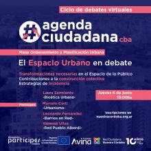 #agendaciudadanacba: El Espacio Urbano en debate